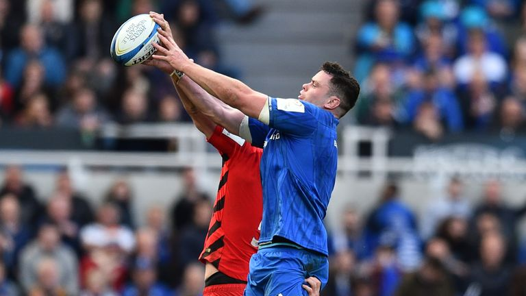 Before Saturday's final, Leinster were unbeaten in three European Cup matches against Saracens