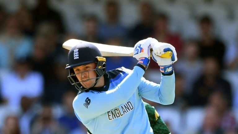 Jason Roy was one of four England players to hit half-centuries during their innings