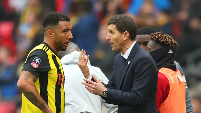 Troy Deeney looks set to return for Watford following his three-match ban