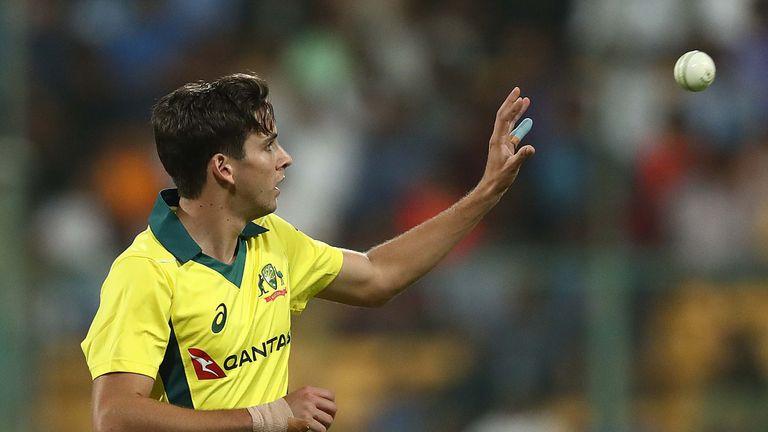 Richardson has taken 24 wickets in 12 one-day internationals for Australia
