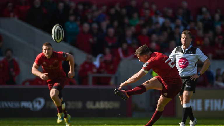 Hanrahan's late dramatic penalty brought Munster victory in Limerick