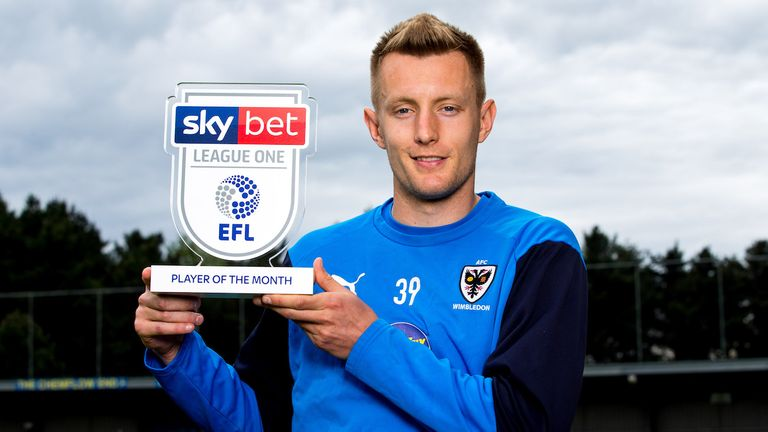 Reading interested in signing Joe Pigott from AFC Wimbledon