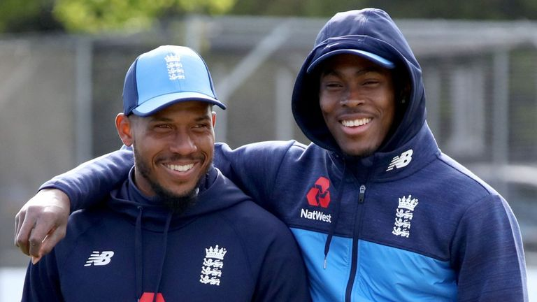 Chris Jordan helped Archer earn a contract at Sussex