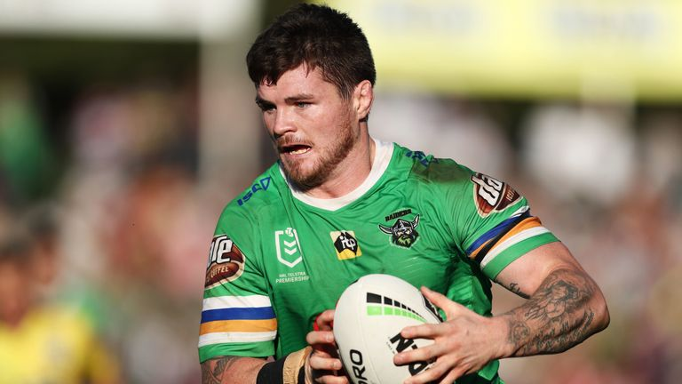 Ex-Wigan player John Bateman has impressed for Canberra in the NRL