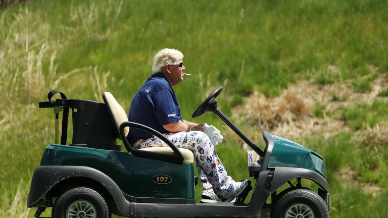 Daly was permitted to use a buggy at the PGA Championship