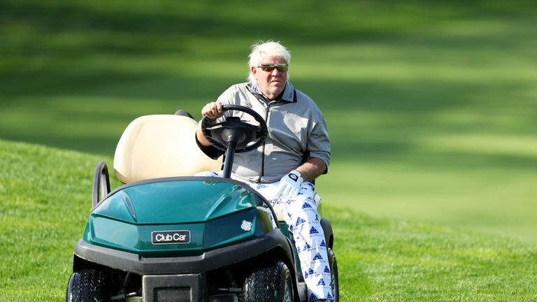 Daly carded rounds of 75 and 76 at Bethpage Black