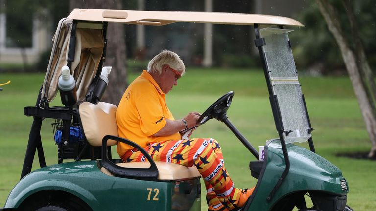 John Daly will be allowed to use a cart for the PGA