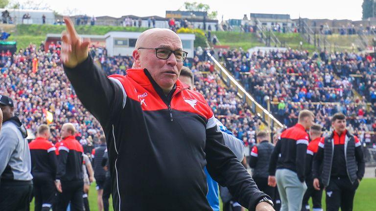 Bradford head coach John Kear is looking forward to the quarter-finals
