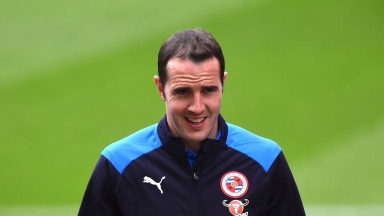 Reading's John O'Shea will retire after Sunday's meeting with Birmingham