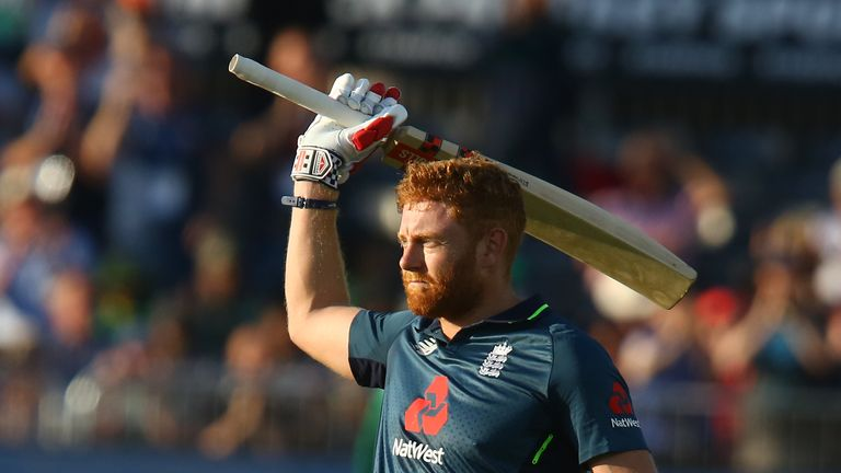 Jonny Bairstow narrowly missed out on surpassing his ODI high-score of 141