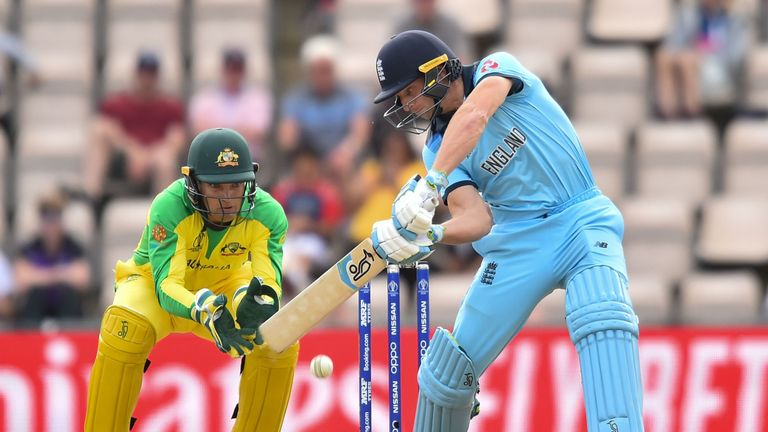 Jos Buttler scoring a blistering 52 but it wasn't enough for England
