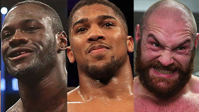 AJ and Fury plan to fight next year - but Wilder still wants a Fury trilogy