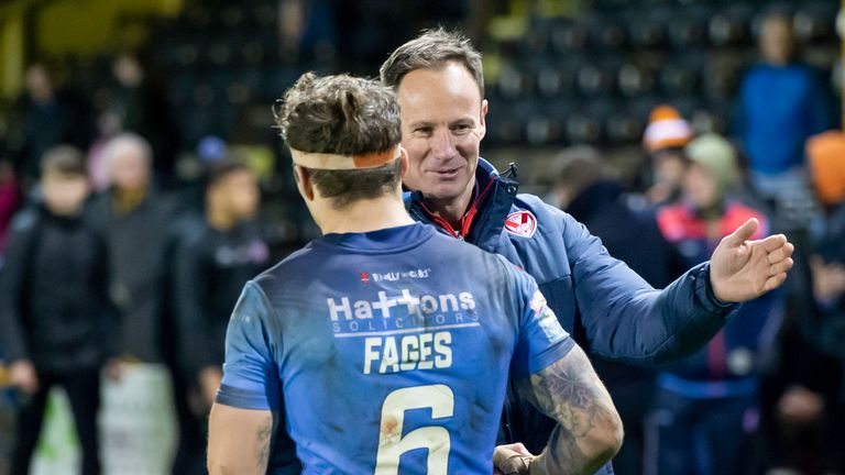 St Helens coach Justin Holbrook is preparing his side for the visit of Salford