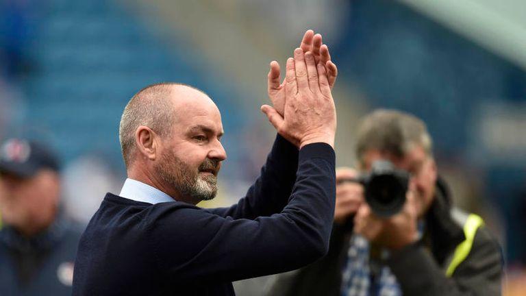 Steve Clarke appointed Scotland head coach on three-year deal