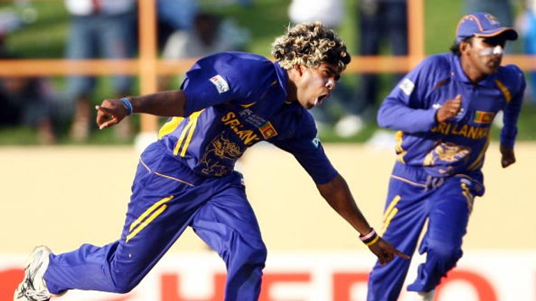 Sri Lanka's Lasith Malinga was in formidable form against South Africa