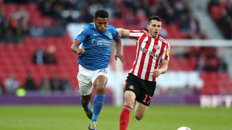 Portsmouth and Sunderland played out a tight contest at the Stadium of Light