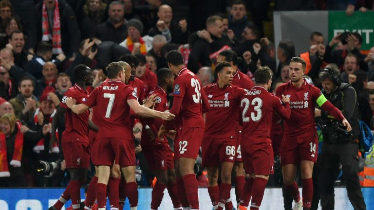 Liverpool are through to their ninth European Cup/Champions League final