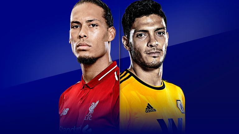Liverpool vs Wolves is live on Sky Sports from 2pm on Sunday