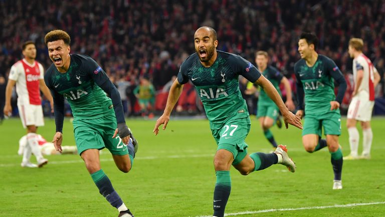 Lucas Moura scored a dramatic winner to send Tottenham to the Champions League final