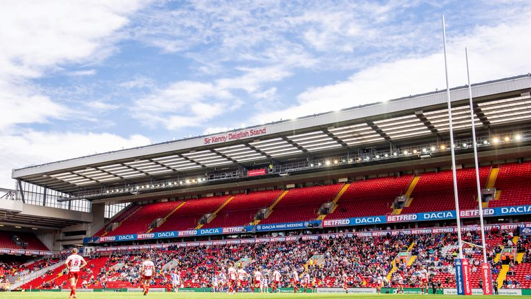 This season's Magic Weekend was held at Anfield in Liverpool