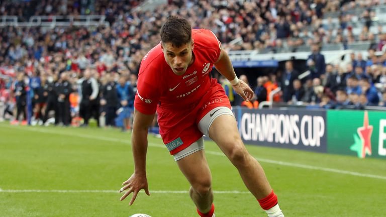 Sean Maitland's try in dead time of the first half was a pivotal moment