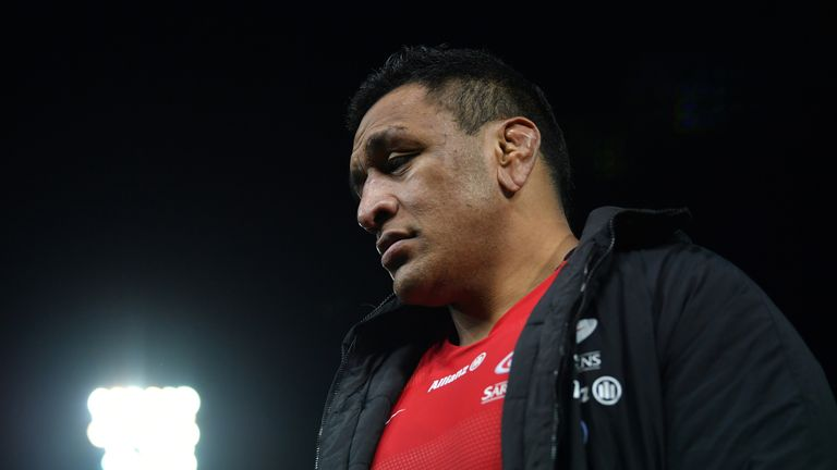 Mako Vunipola will take no part in Saracens' push for the double