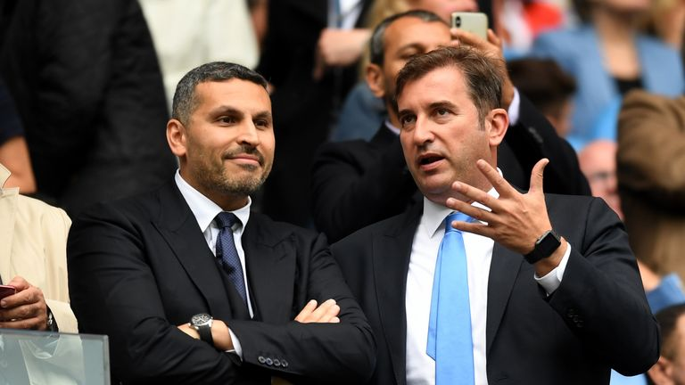 City chairman Khaldoon Al Mubarak