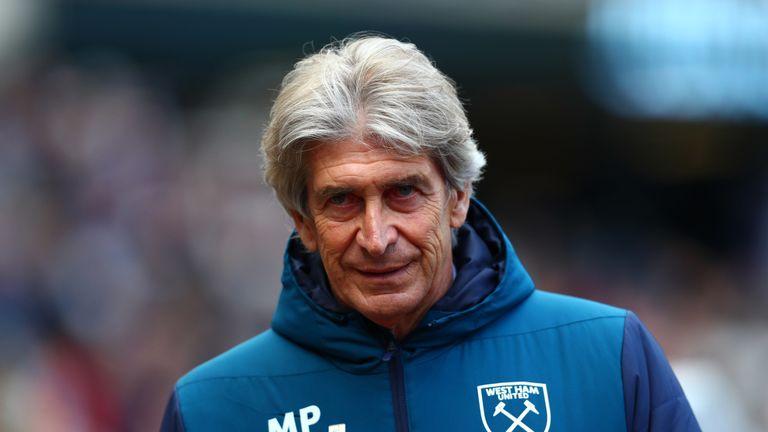 Manuel Pellegrini led West Ham to tenth in the Premier League this season