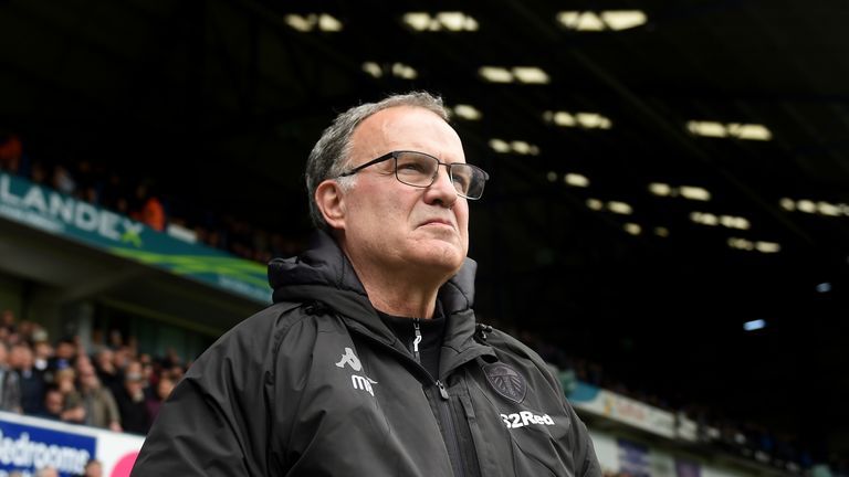 Marcelo Bielsa will be in the Leeds hotseat again this season after last term's play-off disappointment
