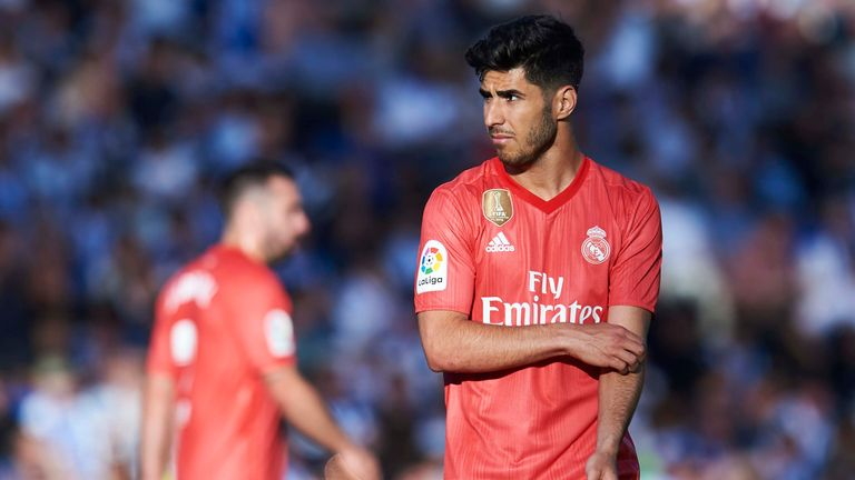 Real Madrid playmaker Marco Asensio is a Tottenham target this summer