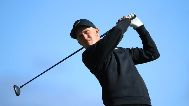 Kinhult is in his second season on the European Tour
