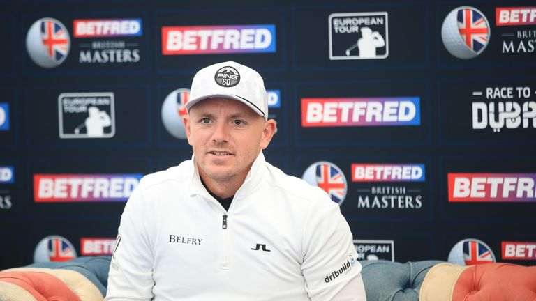 Matt Wallace is one of the leading names playing the British Masters