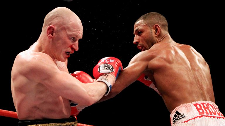 Hatton also engaged Kell Brook in a 12-round battle in Sheffield