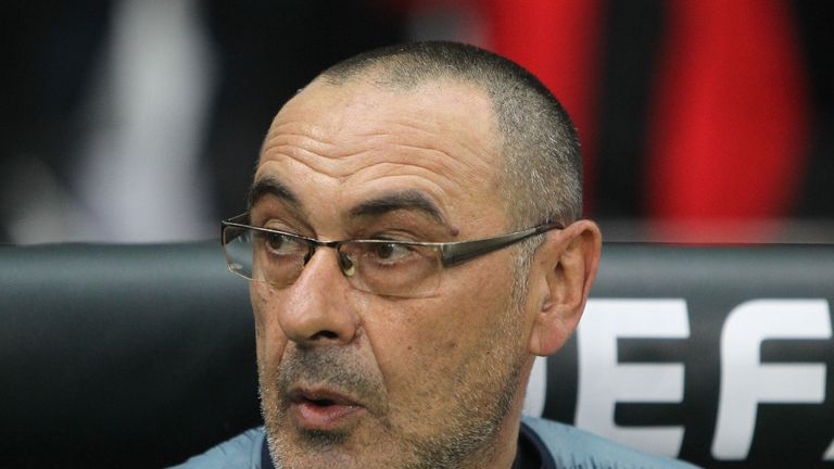 Sarri has been linked with a return to Serie A with Juventus or Roma.