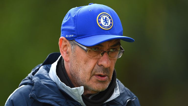 Maurizio Sarri looks to be on his way