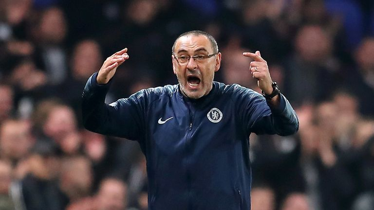 Maurizio Sarri is expected to leave Chelsea for Juventus