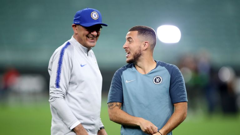 """Sarri says his """"love"""" for his Chelsea squad will complicate any decision over his future"""