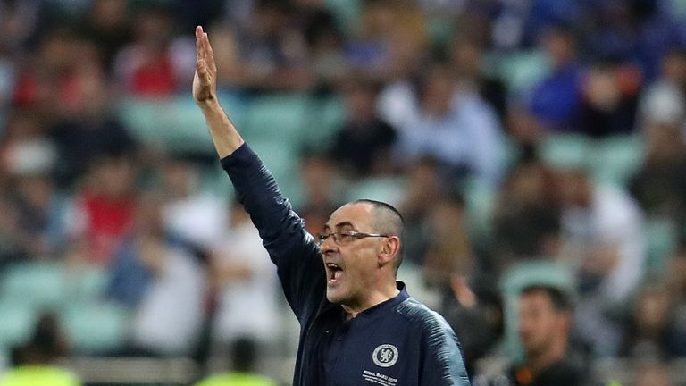 Maurizio Sarri has left Chelsea to take over at Juventus