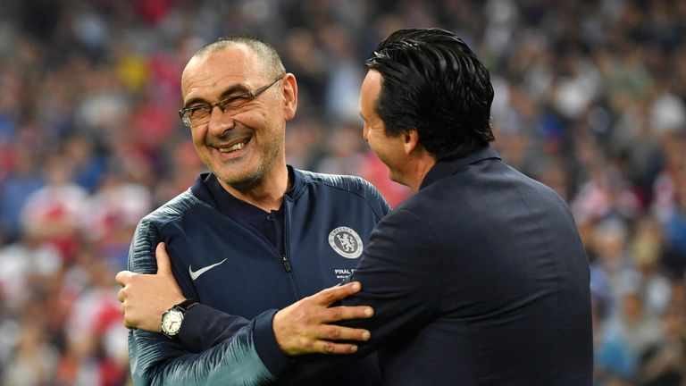 Maurizio Sarri has been linked with the vacant post as Juventus manager