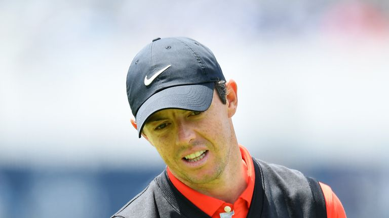Rory McIlroy did not make a birdie until the 18th