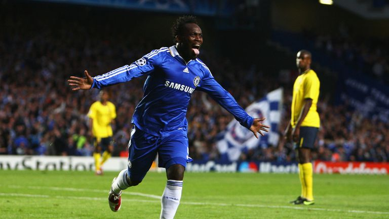 Michael Essien's 20-yard blockbuster fired Chelsea in front after nine minutes