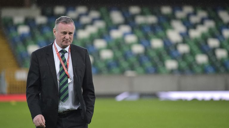 Michael O'Neill says he enjoys the stability offered to him by the IFA