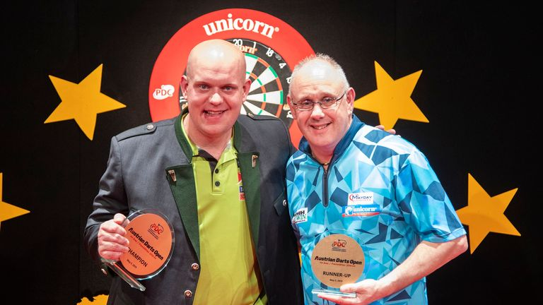 MVG edged Ian White in the decider