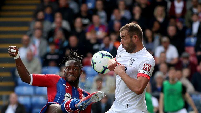 Batshuayi scored to put Palace 1-0 up