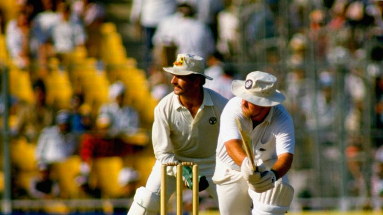An ill-advised reverse sweep from Mike Gatting set England on the path to defeat in the 1987 final