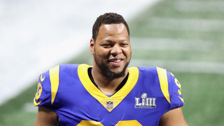 Ndamukong Suh helped the LA Rams reach the Super Bowl last season