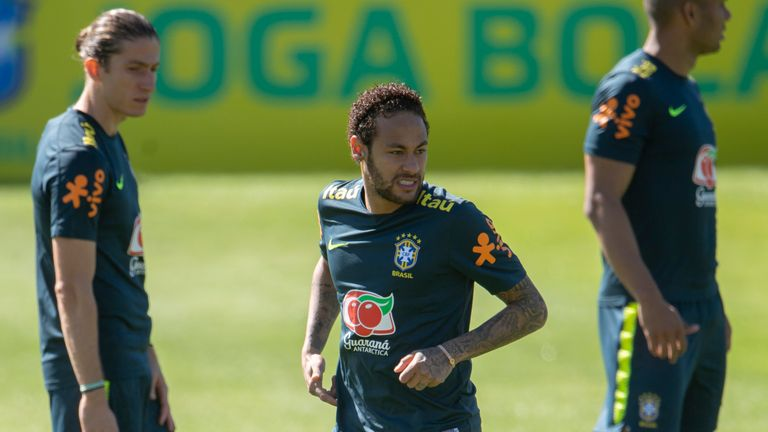 Neymar was stripped of the Brazil captaincy a day earlier following a series of disciplinary issues