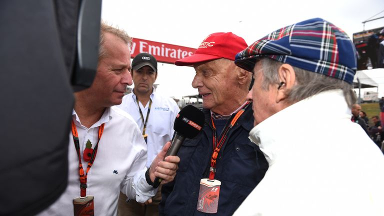 Martin Brundle reacts to the sad news of three-time F1 world champion Lauda's death