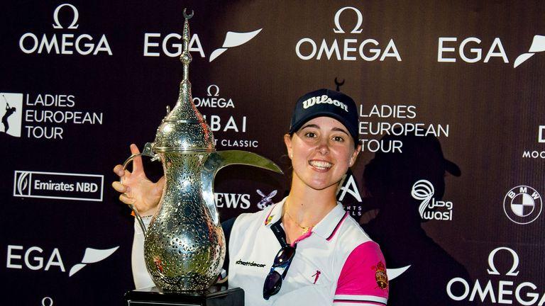 Nuria Iturrios took the title at the Omega Dubai Moonlight Classic