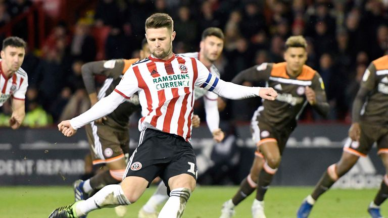 Norwood made 43 appearances and scored three goals for Sheffield United in the Championship this season